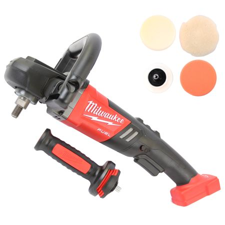 Milwaukee FUEL Akku-Poliermaschine M18FAP180-0X in HD-Box