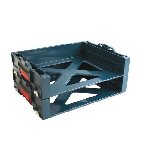 2 Stück Bosch i-BOXX active Rack 1600A001SB passend für L-Boxx 102 / 136 / 238