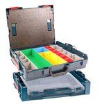 Bosch Boxenset L-BOXX 102 Gr.1 inkl. 13 Insetboxen und Deckeleinlage + i-BOXX active Rack + Bosch i-Boxx 53 Professional 001