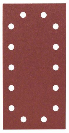 Bosch Schleifblatt Best for Wood, 10er Pack, 115x230, 14 Löcher, Klett, Körnung P80 – Bild 2