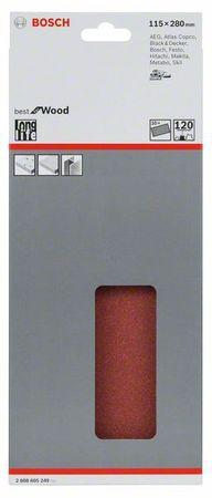 10Schwings.B.f.Wood,115x280mm,ungel,P120 – Bild 1