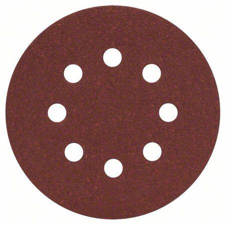 50 Schleifbl. B.f.Wood;125mm,P60, 8 Lö. – Bild 2
