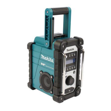 Makita Baustellenradio DMR 110 für Empfang von DAB, DAB+ und FM, Mini-USB 7.2 V - 18 V – Bild 2