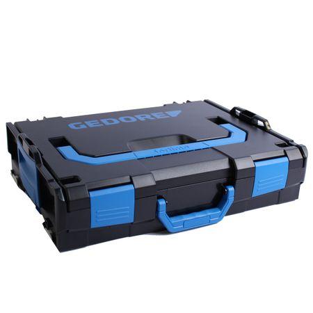 GEDORE L-BOXX 102 schwarz Leerbox ohne Einlage ohne Inhalt 442 x 117 x 357 mm