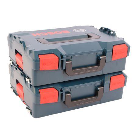 Doppelpack Bosch L-Boxx 136 Gr. 2 ohne Einlage - Neue Ausführung