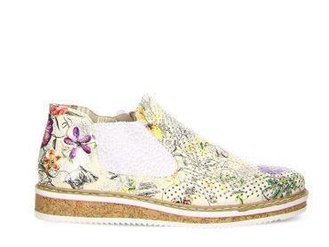 Rieker Chelsa multicolor Blumen N0356-90 – Bild 2