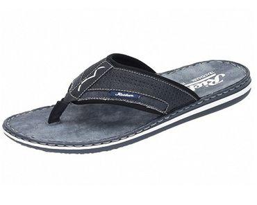 Rieker Herren Pantolette Sandale blau 21083-14