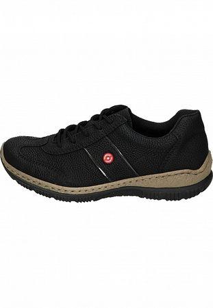 Rieker Damen Sneaker schwarz N3220-01 – Bild 2