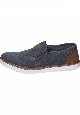 Rieker Herren Slipper Jeans B4962-14 – Bild 2