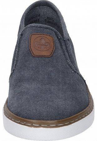 Rieker Herren Slipper Jeans B4962-14 – Bild 5