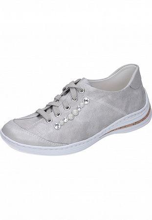 Rieker Damen Sneaker silber M3503-80 – Bild 1