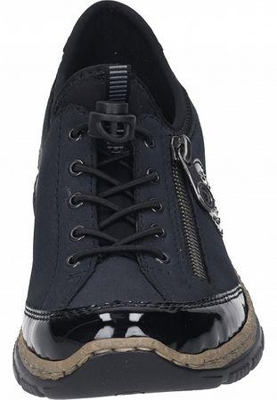 Rieker Damen Sneaker blau  N3268-01 – Bild 5