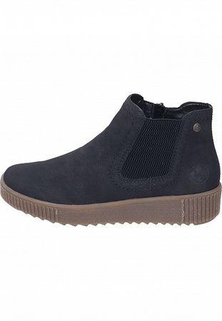 Rieker Stiefelette Chelsea Boots schwarz Y6463-01 – Bild 2