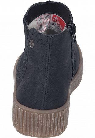 Rieker Stiefelette Chelsea Boots schwarz Y6463-01 – Bild 3