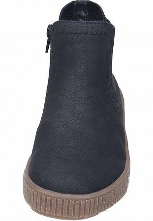Rieker Stiefelette Chelsea Boots schwarz Y6463-01 – Bild 5