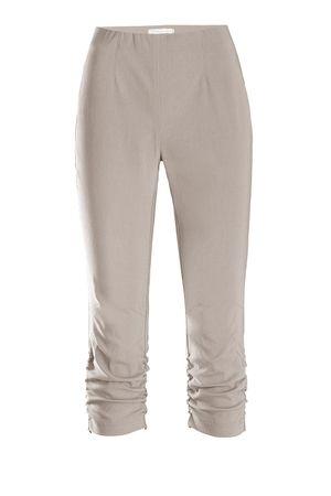 Stehmann Hose - Stretchhose MARIA 530 Caprihose -viele Farben-mit EXTRA-Fashion Armreif- eng Pull-On Hose mit Raffung am Bein – Bild 6
