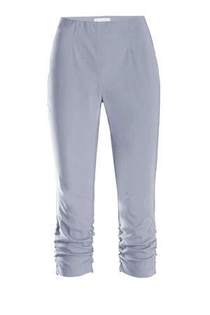 Stehmann Hose - Stretchhose MARIA 530 Caprihose -viele Farben-mit EXTRA-Fashion Armreif- eng Pull-On Hose mit Raffung am Bein – Bild 22