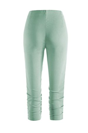 Stehmann Hose - Stretchhose MARIA 530 Caprihose -viele Farben-mit EXTRA-Fashion Armreif- eng Pull-On Hose mit Raffung am Bein – Bild 24