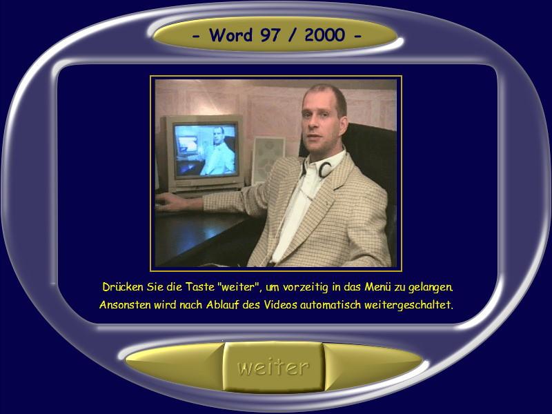 Microsoft Word 97/2000 Lernkurs  – Bild 2
