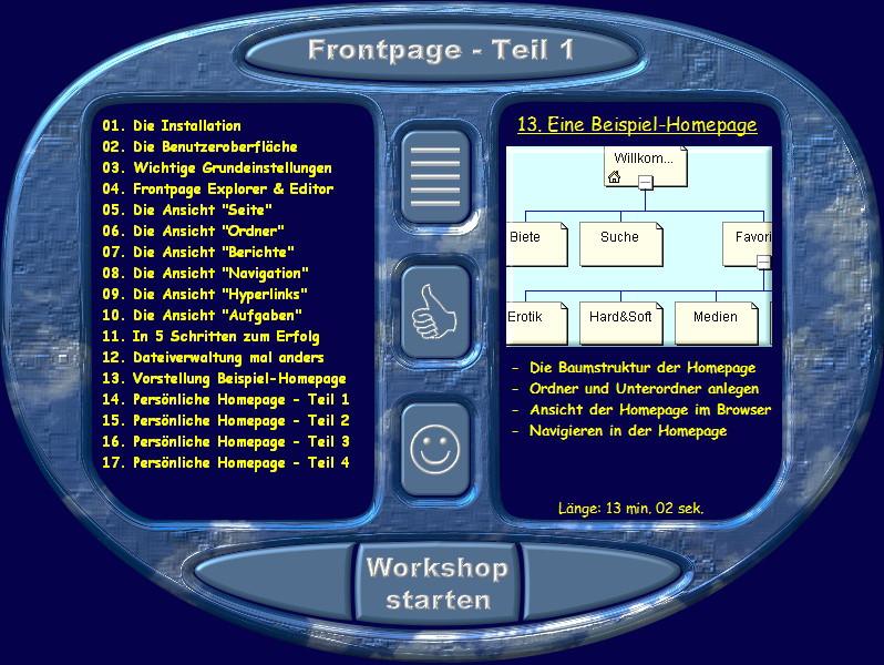 Microsoft Frontpage Praxiskurs – Bild 2