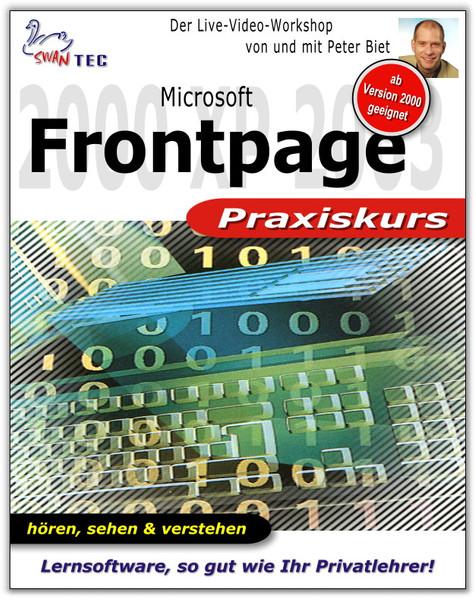 Microsoft Frontpage Praxiskurs – Bild 1