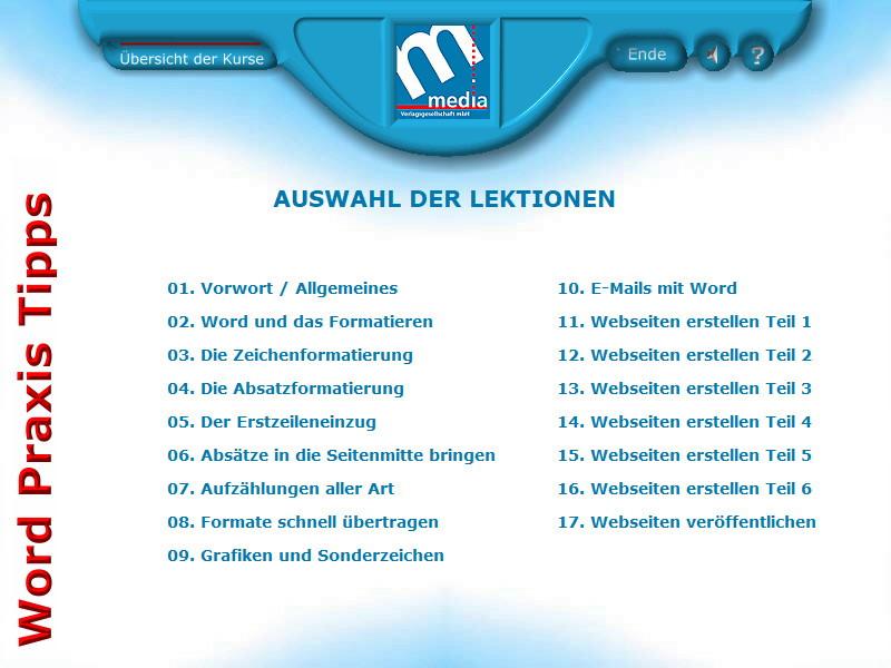 Microsoft Word 2000 Praxiskurs  – Bild 2