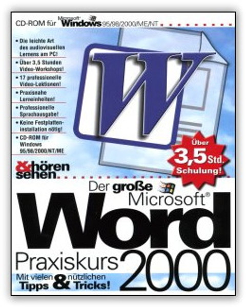 Microsoft Word 2000 Praxiskurs  – Bild 1