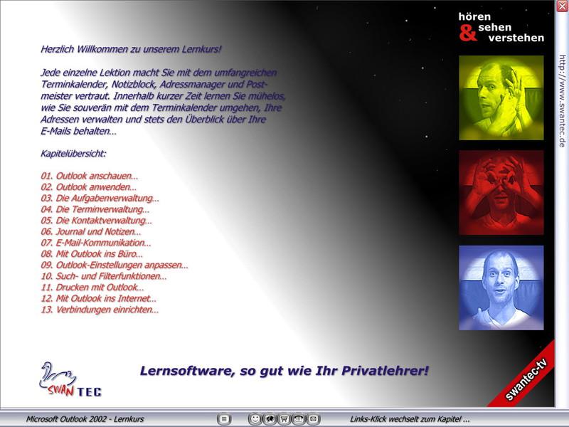 Microsoft Outlook 2002 Lernkurs – Bild 3