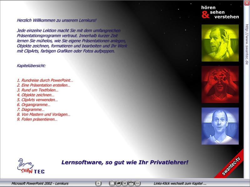 Microsoft PowerPoint 2002 Lernkurs – Bild 3