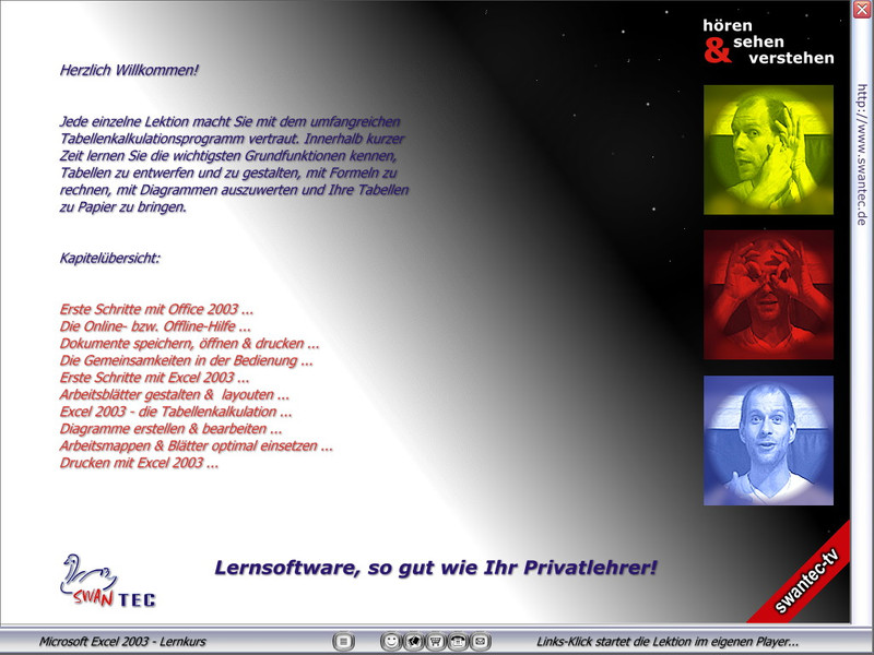 Microsoft Excel 2003 Lernkurs – Bild 3