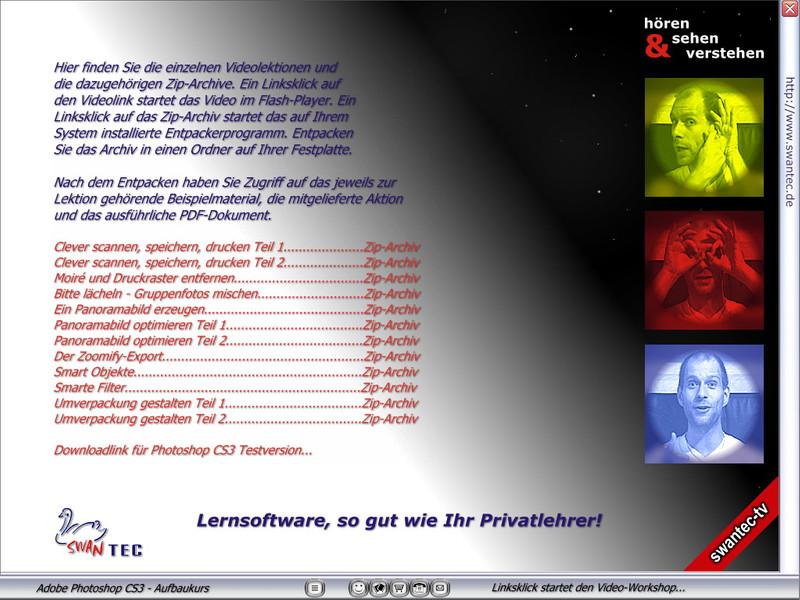 Adobe Photoshop CS3 Aufbaukurs – Bild 2