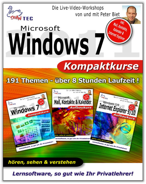 Microsoft Windows 7 - 3er Bundle Kompaktkurse – Bild 1