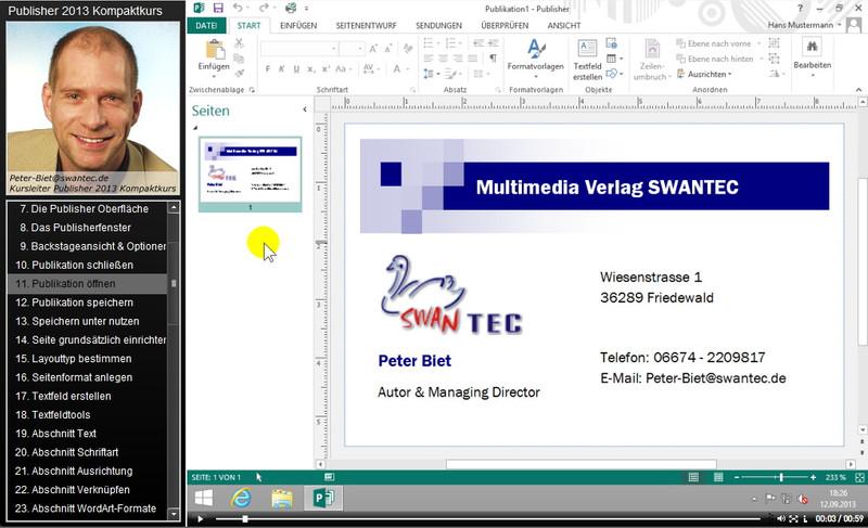 Microsoft Publisher 2013 Kompaktkurs – Bild 4