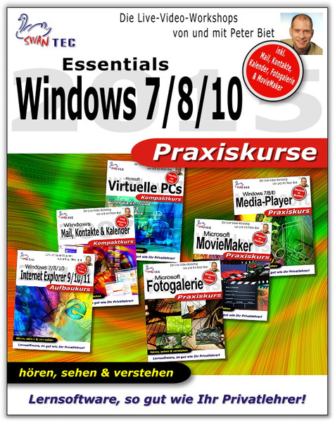 Windows Essentials 7/8/10 6er Bundle Praxiskurse – Bild 1