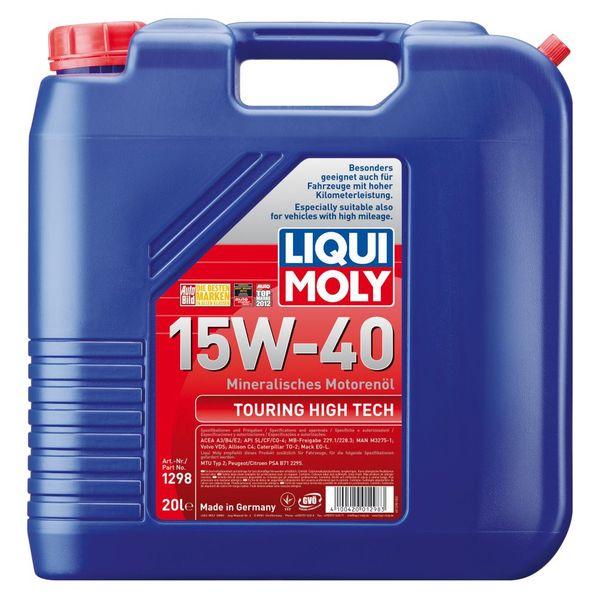 Liqui Moly Motoröl Touring High Tech 15W-40 20 Liter