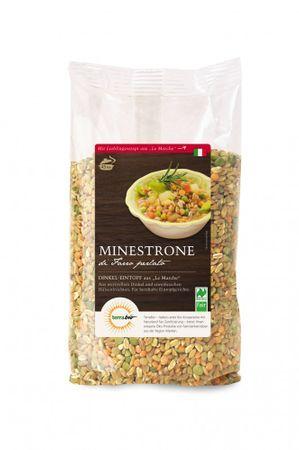 Bio Dinkel Minestrone aus Italien, Naturland Fair, 400 g Packung – Bild 1