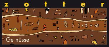 Ge Nüsse - extra dunkle Milchschokolade mit Nüssen - 70 g - Bio & Fairtrade – Bild 1