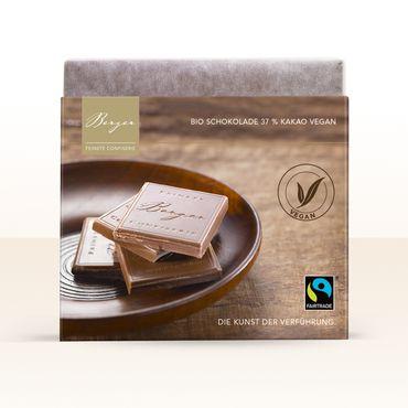 Berger Bio Reisdrink Schokolade mit 37 % Kakaoanteil - vegan, 70 g – Bild 1