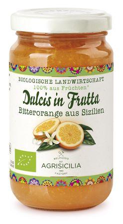 Agrisicilia Fruchtaufstrich Bitterorange aus  Sizilien  , 240 g, Bio – Bild 1