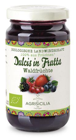 Agrisicilia Fruchtaufstrich Waldfrüchte 240 g Bio – Bild 1