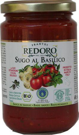Bio Tomatensoße mit Basilikum  264 ml -  sugo all basilico, bio – Bild 1