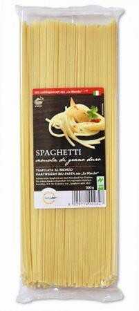 "Bio Spaghetti 500 g Naturland ""Fair"" - original italienische Hartweizen Pasta aus ""Le Marche"" – Bild 1"