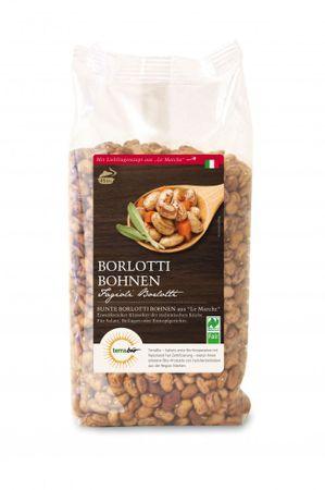 Bio Borlotti Bohnen aus Italien, Naturland Fair, 500 g Packung – Bild 1
