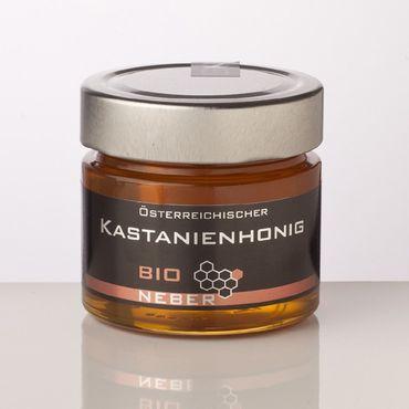 Edel-Kastanienhonig aus Österreich, Bio, 250 g – Bild 1