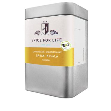 Garam Masala gemahlen - Indian Night, Bio -  Dose 70 g – Bild 1