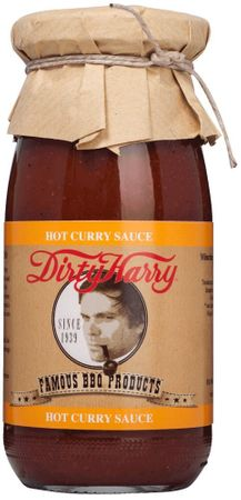 Dirty Harry Hot Curry Sauce Bioland  250 ml
