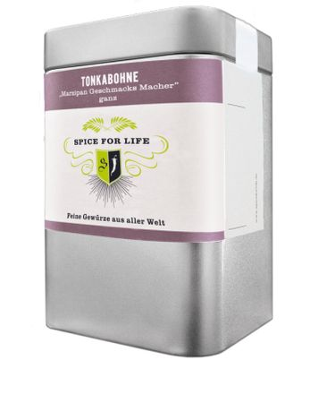 Tonkabohnen ganz - Marzipan Geschmacks Macher - Dose 60 g – Bild 1