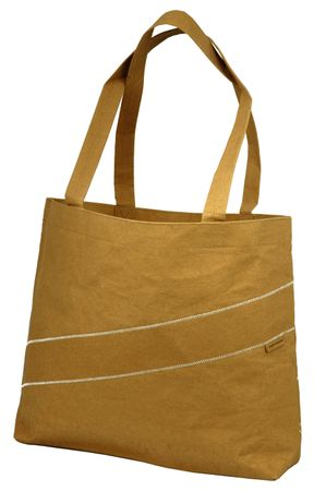 ON-THE-ROAD Papier Shopping Bag braun - Cruiser Bag abwaschbar – Bild 1