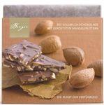 Berger Bio Vollmilch Schokolade mit gerösteten Mandelsplittern  90 g 001