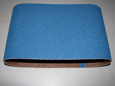 10 Schleifband 750 x 200 Zirkonkorund BLUE Holz K 24 36 40 60 80 100 120 Menzer passend für z.B. MENZER, Bona, FG, Janser, Künzle & Tasin, Lägler, Pallmann – Bild 1